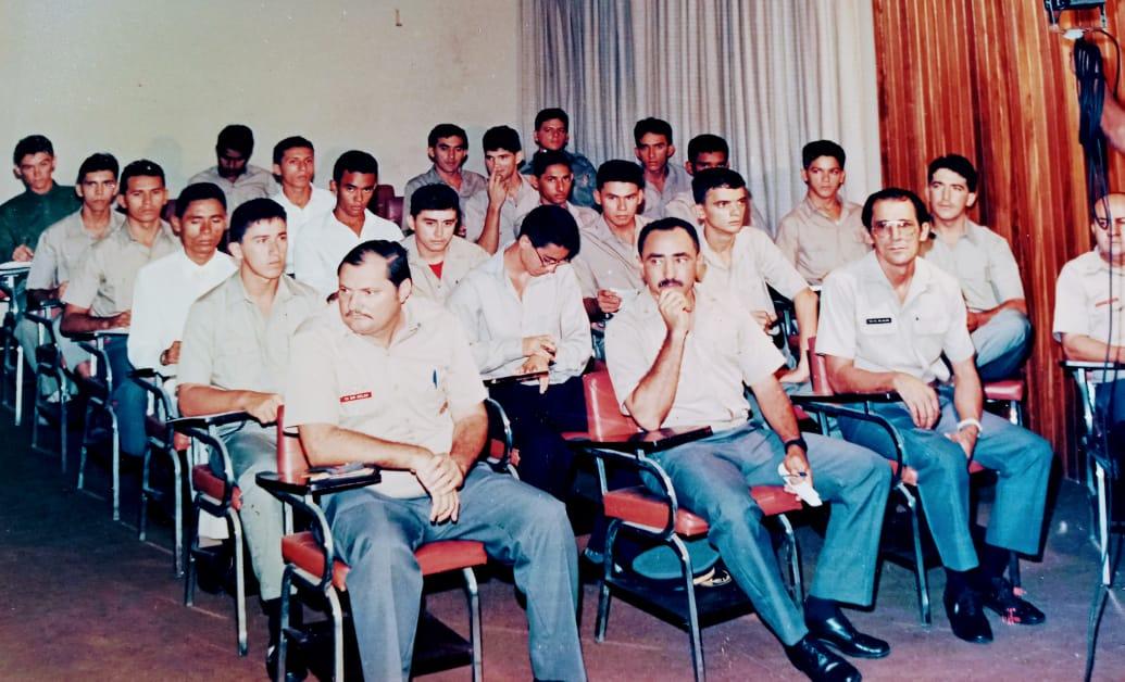 Aula inaugural CFS/91 - CBMCE