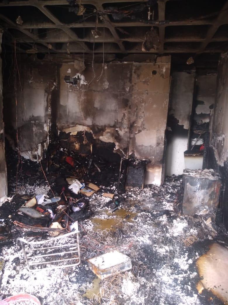 Incêndio em apartamento na Aldeota
