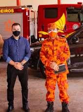 Secretário da Segurança Pública e Comandante Geral dos Bombeiros realizam visita técnica em obras de quartéis na Capital