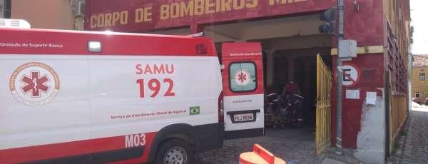 Bombeiros e SAMU atuam em parto de pré-maturo
