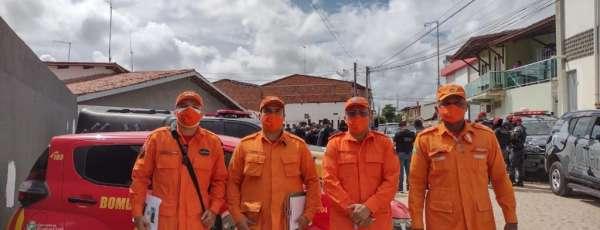 CEPI/CBMCE participa de várias operações de cumprimento ao decreto governamental de isolamento social