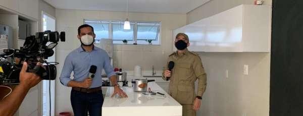 Corpo de Bombeiros orienta sobre cuidados no uso de panela de pressão