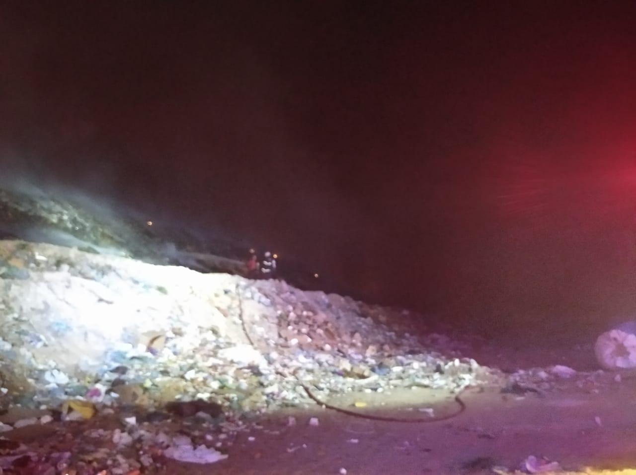 CBMCE incêndio aterro sanitário de Horizonte