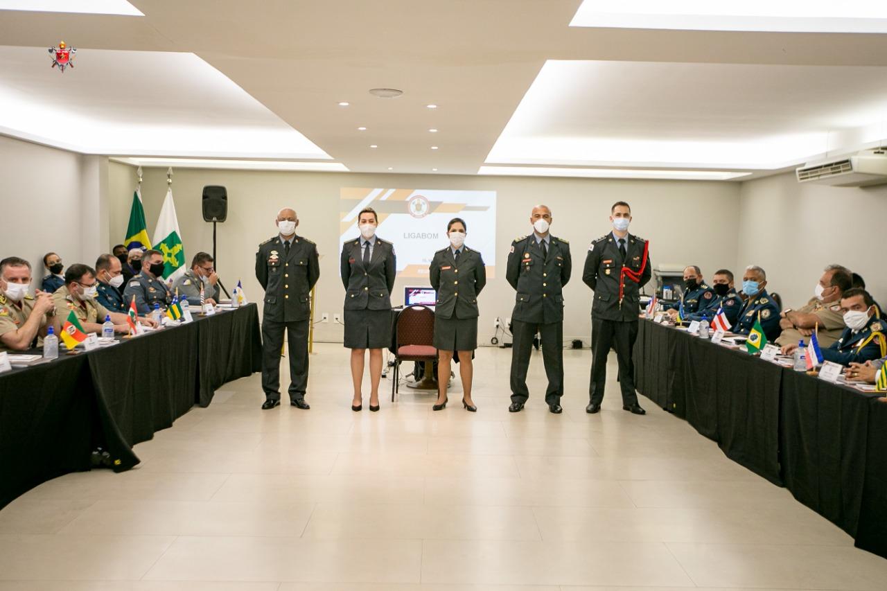 CBMCE participada da primeira reunião presencial da Liga dos Bombeiros