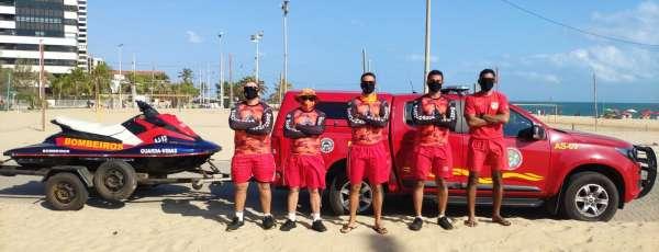 Companhia de Mergulho de Resgate participa do evento de limpeza de praias, rios e lagoas