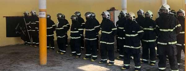 Aesp e CBMCE realizam solenidade de encerramento do 17º Curso Básico de Combate a Incêndio Urbano