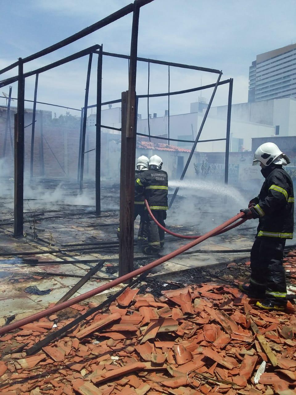 CBMCE Incêndio em Juazeiro do Norte