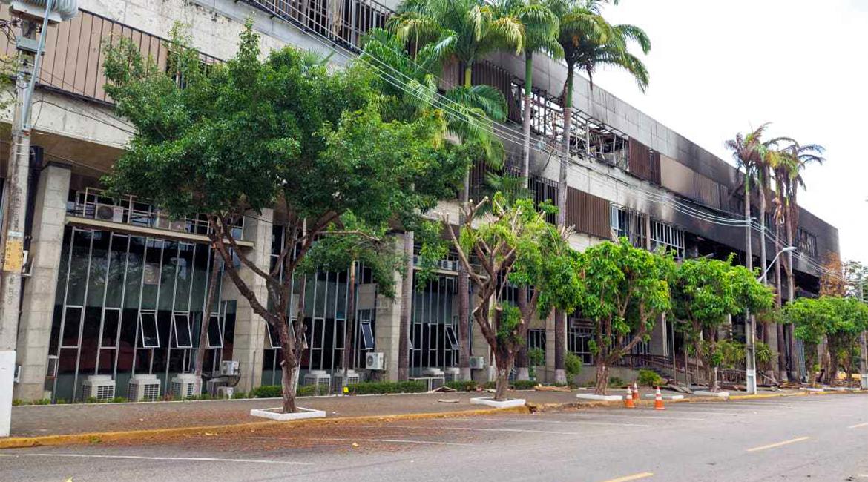 Relatório sobre prédio do TJCE indica boa condição de estabilidade da estrutura