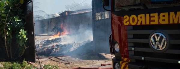 CBMCE incêndio