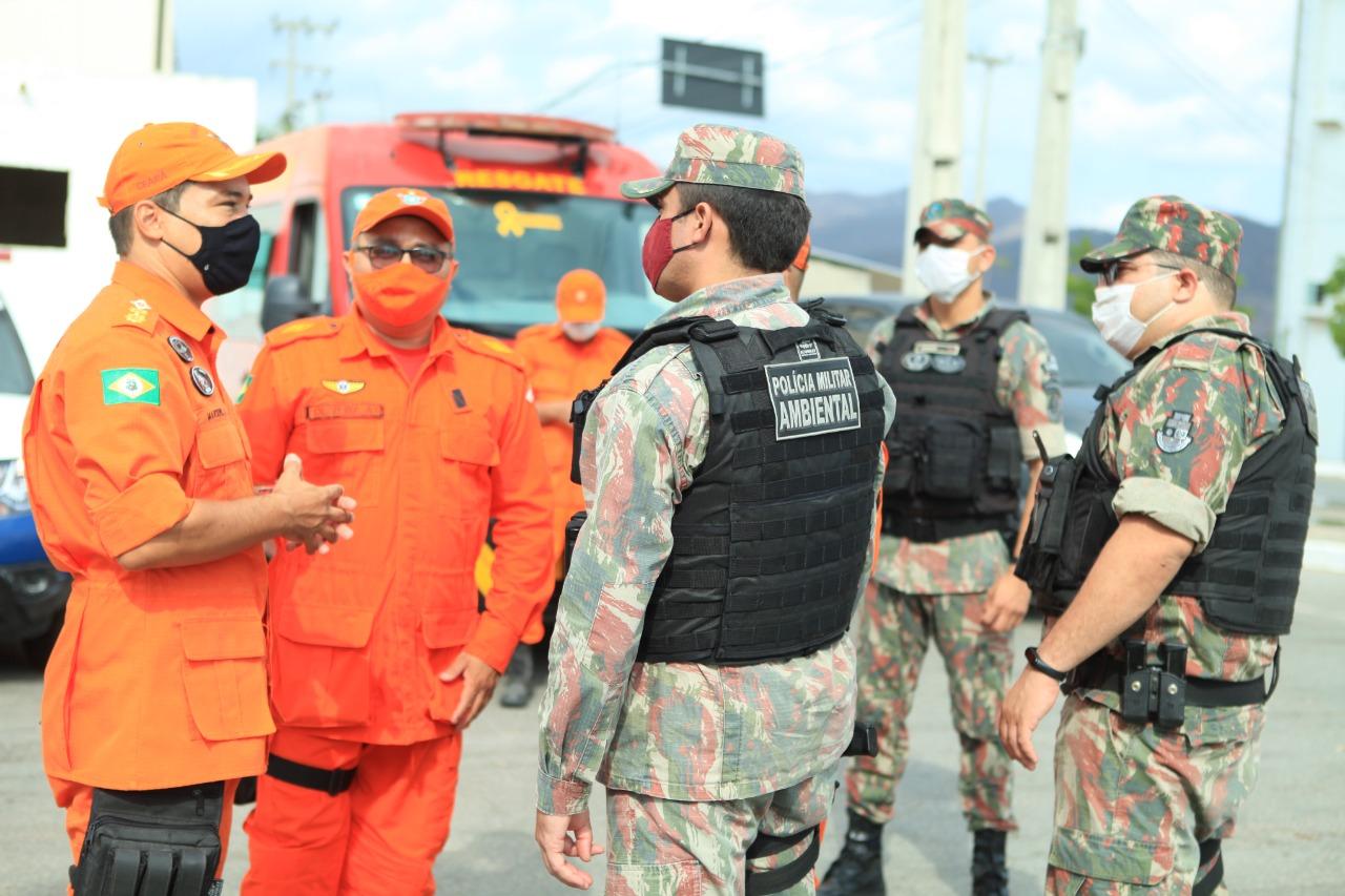 Corpo de Bombeiros participa da Operação Dommus em Sobral
