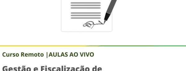 A Escola de Gestão Pública do Estado do Ceará (EGPCE) oferece o curso Gestão e Fiscalização de Contratos