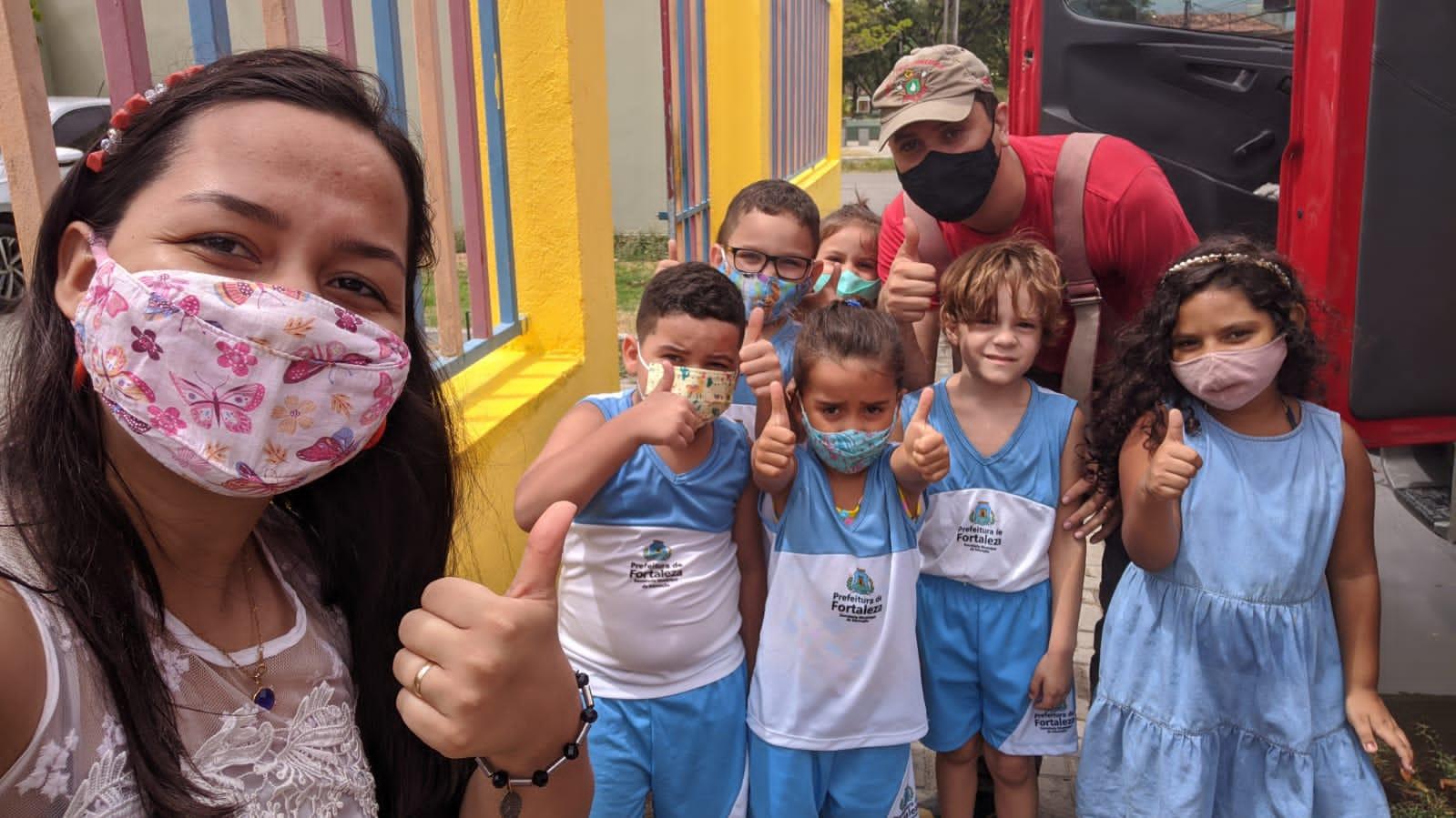 CBMCE Homenagem 5ªCia/1ºBBM - Conjunto Ceará