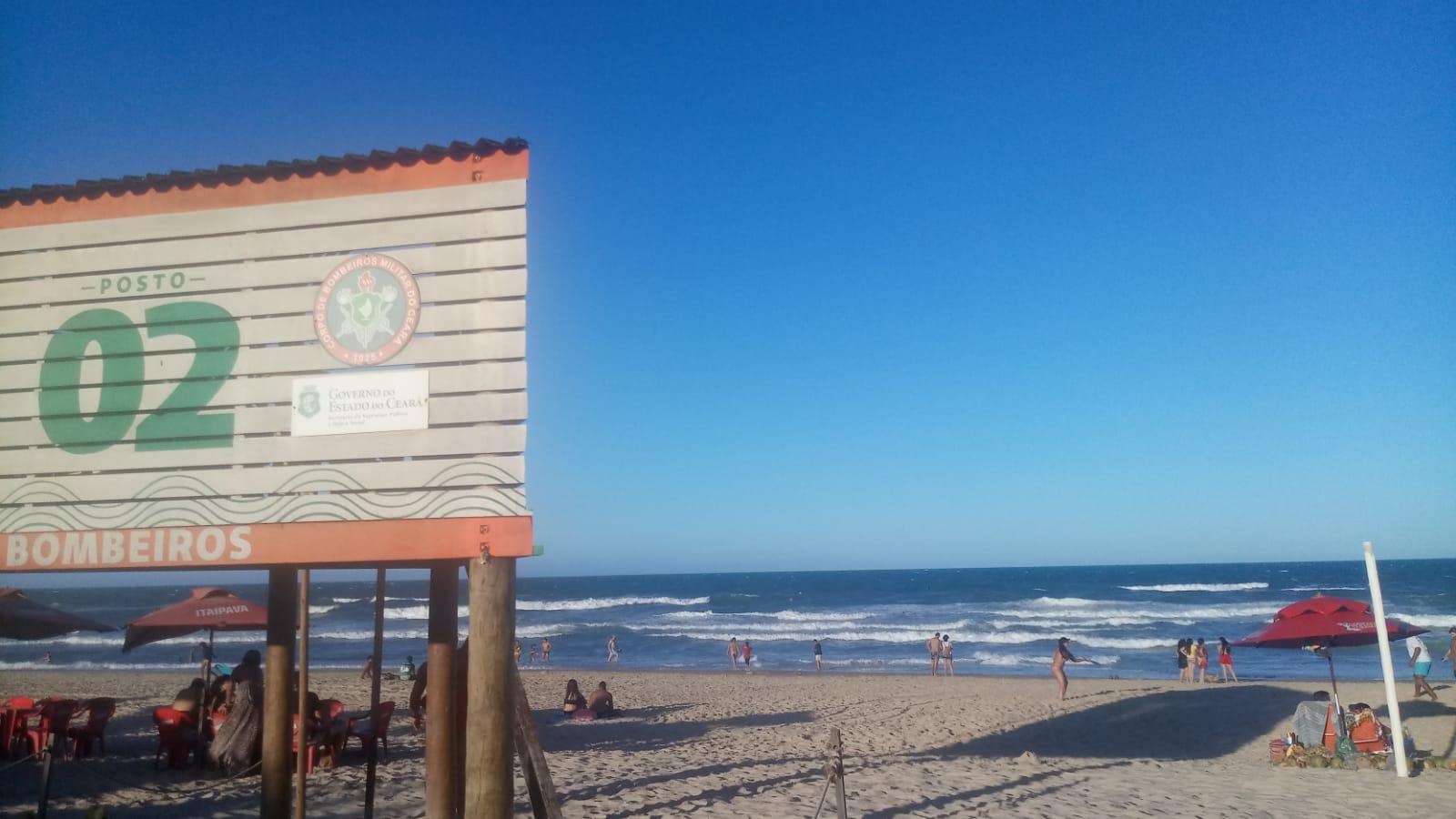 Atuação do Corpo de Bombeiros salva 18 vidas em praia de Fortaleza