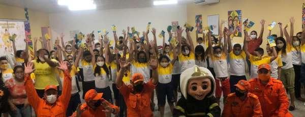 Corpo de Bombeiros realiza a II Semana da Criança Segura em Sobral